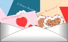 Отправка открыток - Валентинок