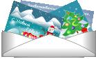 Отправка Новогодних открыток