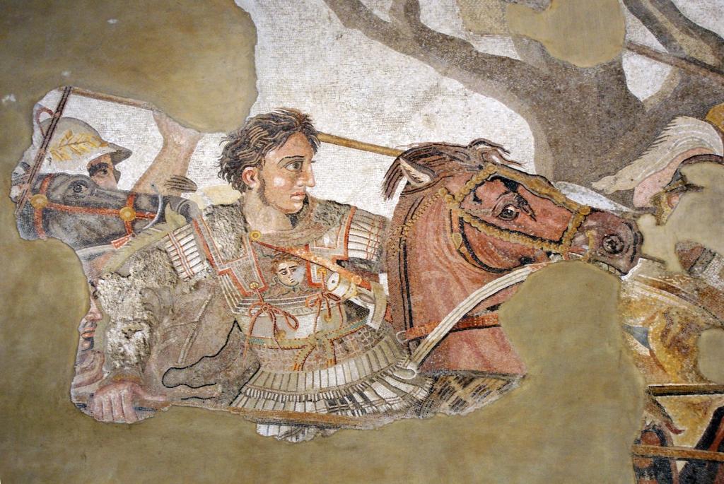 Битва Александра Македонского с персидским царем Дарием III