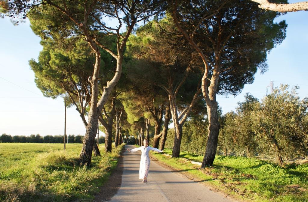 Неподалеку от Canne della Battaglia