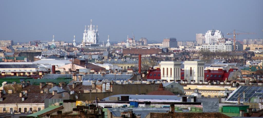 Петербург, вид с Исаакиевского собора