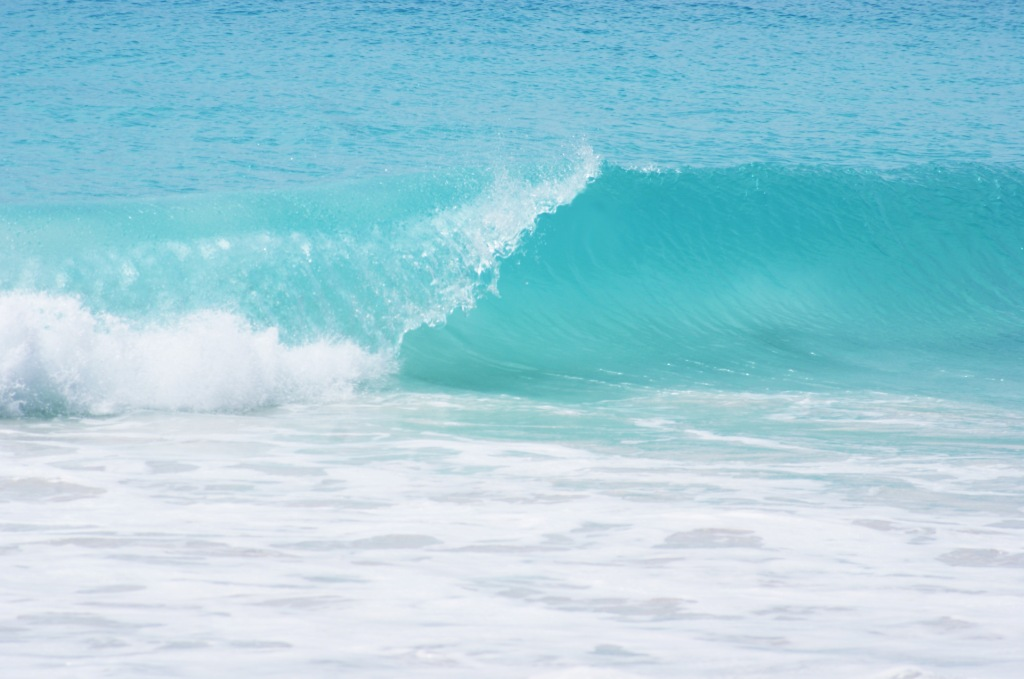 Прале. Шумные волны Anse Georgette
