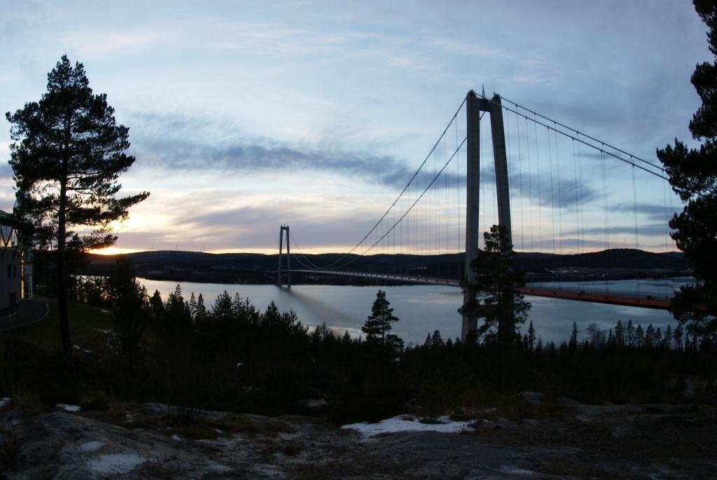 Мост через залив Bottenhavet