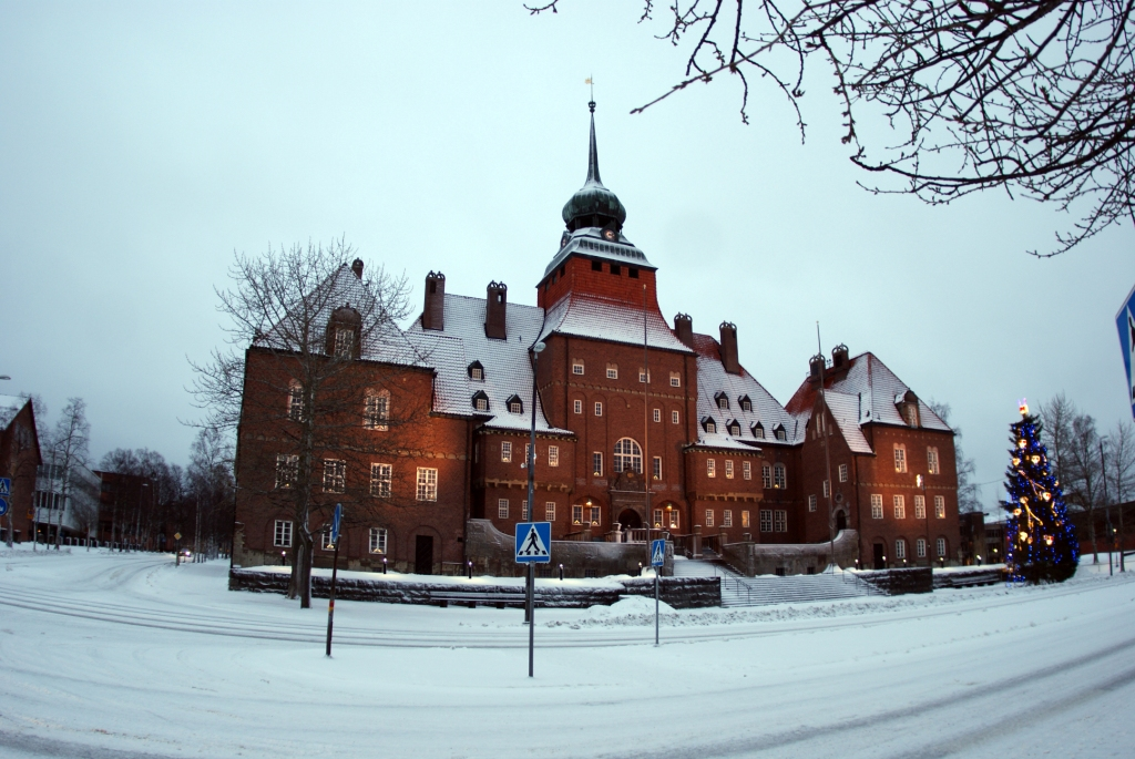 Ратуша в Östersund